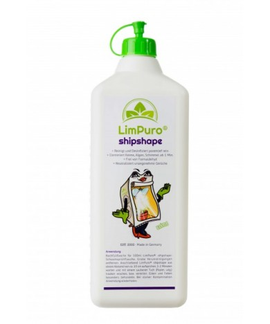 LimPuro Shipshape Grow tent Disinfectant Cleaner 1L